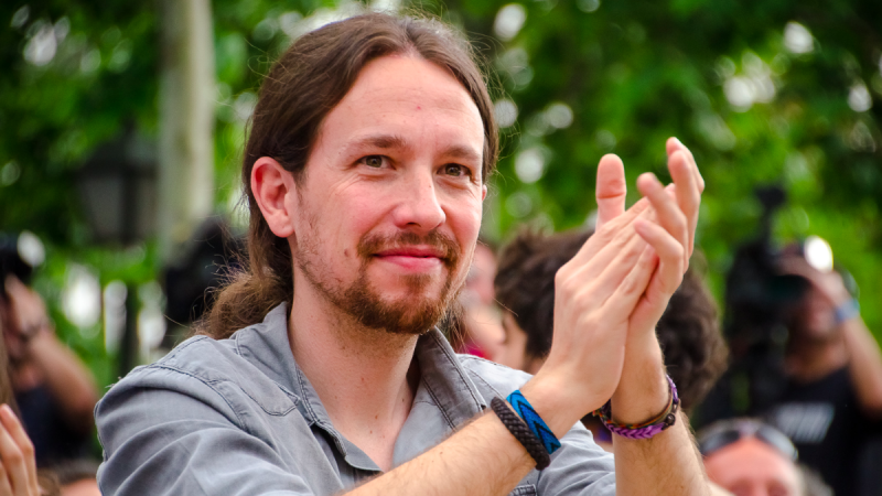 Założyciel partii Podemos Pablo Iglesias zapowiedział odejście z polityki, źródło: Flickr/Ahora Madrid (CC BY-SA 2.0)