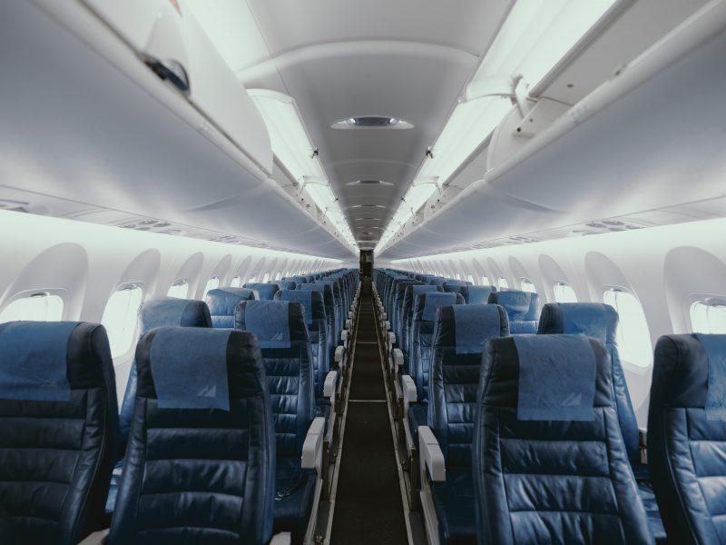 Samolot, podróże, siedzenia