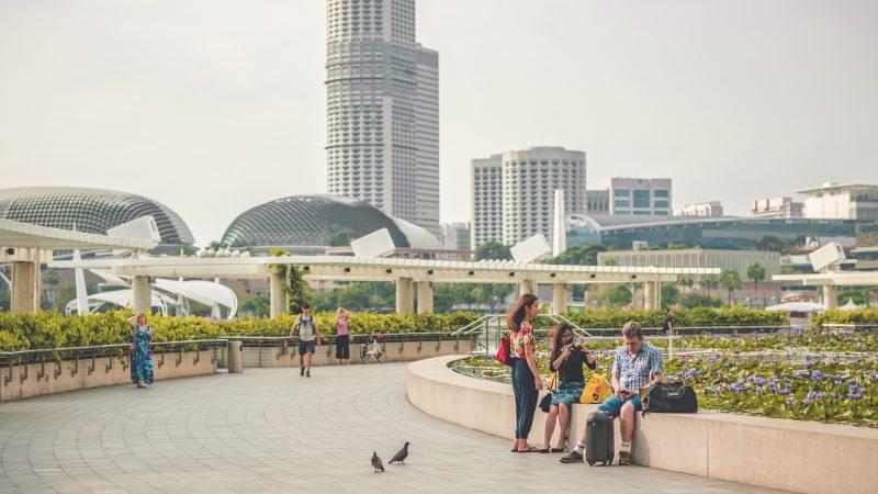 Singapur to miejsce wdrażania wielu nowoczesnych technologii (Photo by Jeremy Julian on Unsplash)