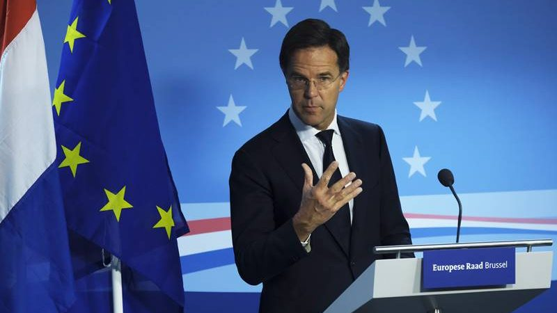 Holandia, Mark Rutte
