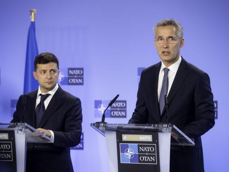 Ukraina, NATO, Wołodymyr Zełenski, Jens Stoltenberg