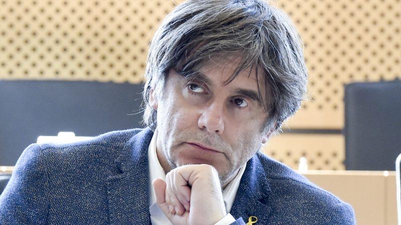Carles Puigdemont, Katalonia, PE