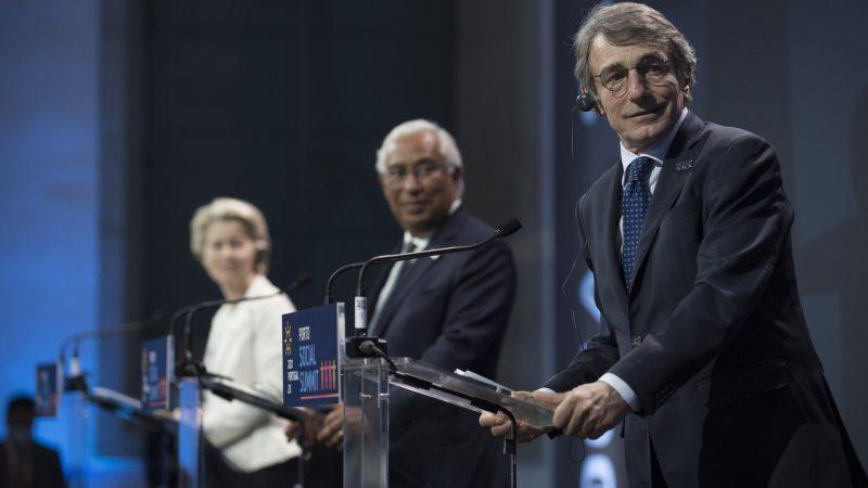 UE, Unia Europejska, Ursula von der Leyen, António Costa, David Sassoli