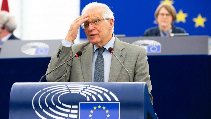 Josep Borrell, UE, Unia Eurropejska