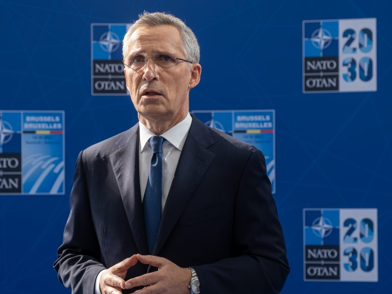 NATO, szczyt, Jens Stoltenberg