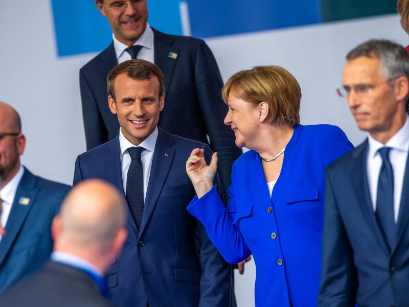 Francja, Niemcy, Unia Europejska, Merkel, Macron, Putin, Ukraina, Nawalny, Krym, Polska, Nord Stream 2