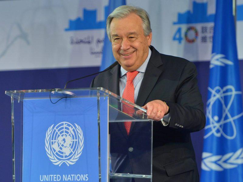 Rada Bezpieczeństwa ONZ: António Guterres, USA, Trump, Rosja, Chiny, Estonia