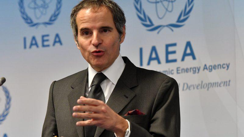 MAEA, Międzynarodowa Agencja Energii Atomowej, Rafael Grossi