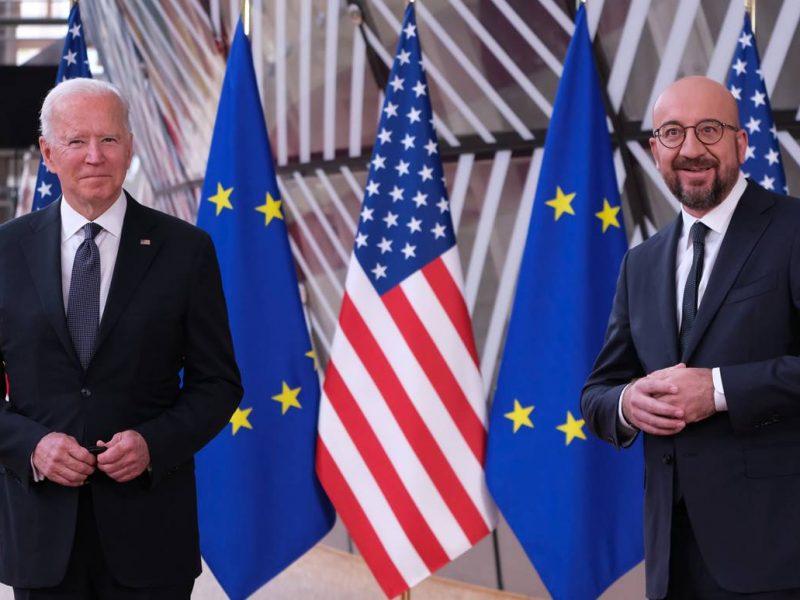 USA, Unia Europejska, UE, Joe Biden, Charles Michel