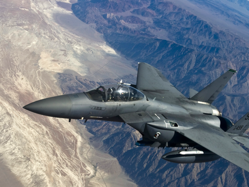 Amerykański myśliwiec F-35, źródło: PxHere (CC0 Public Domain)