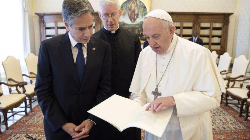 Watykan, USA, papież Franciszek, Antony Blinken
