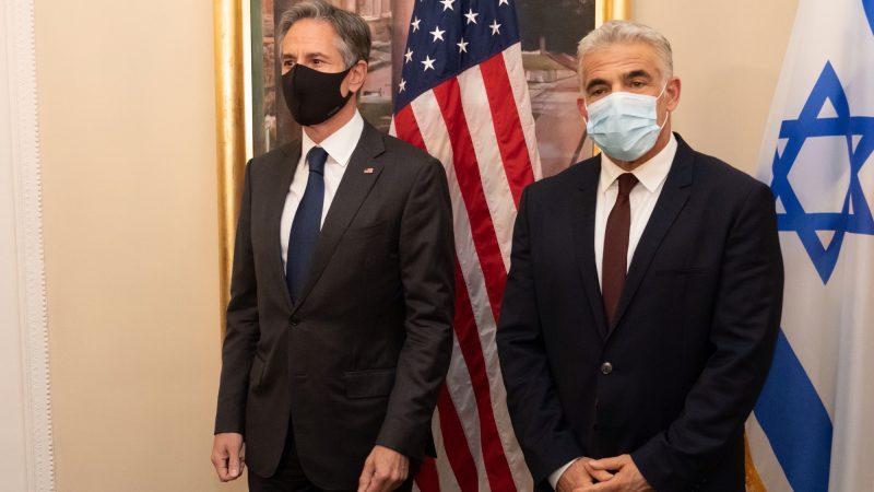 USA, Izrael, Antony Blinken, Ja'ir Lapid