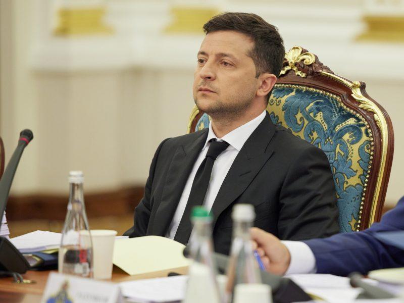 Ukraina, Wołodymyr Zełenski