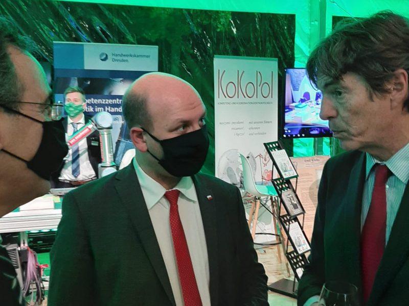 Szymon Szynkowski vel Sęk, Arndt Freytag von Loringhoven, MSZ, ambasador Niemiec
