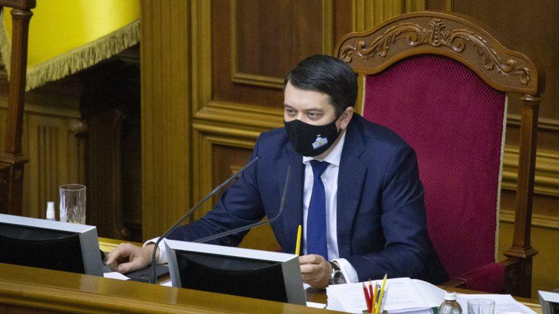 Rada Najwyższa Ukrainy, Dmytro Razumkow