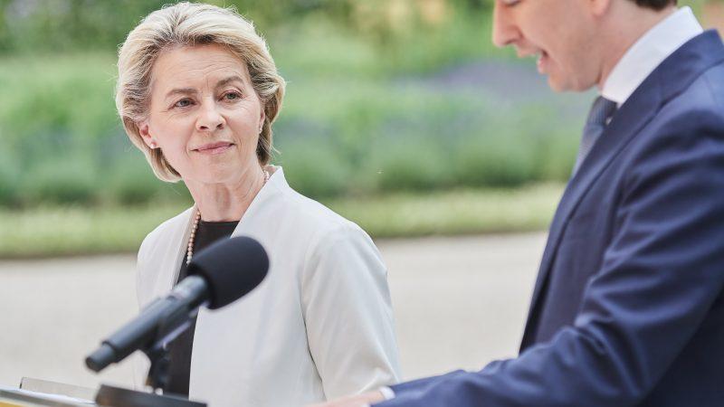 KE, Komisja Europejska, Ursula von der Leyen, Austria, Sebastian Kurz, KPO, Next Generation EU