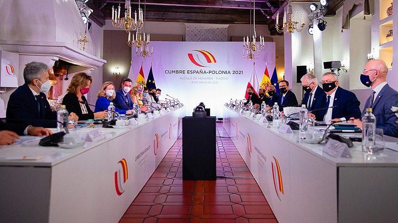 Polsko-Hiszpańskie Konsultacje Międzyrządowe 2021, źródło Krystian Maj KPRM