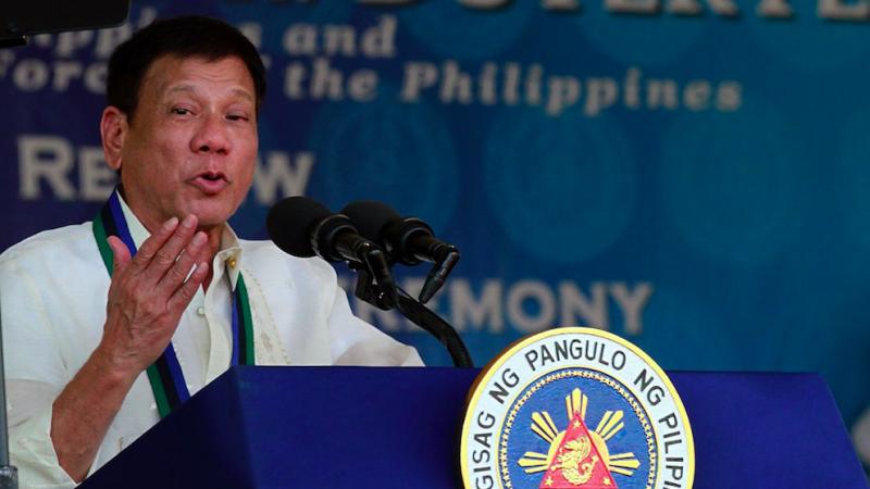 Prezydent Filipin Rodrigo Duterte, źródło: Flickr/Prachatai (CC BY-NC-ND 2.0)