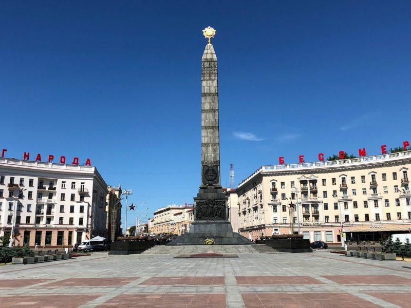Plac Zwycięstwa w Mińsku (Photo by Osman Yunus Bekcan on Unsplash)