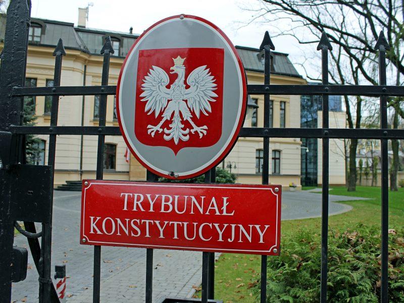 Polska, trybunał konstytucyjny