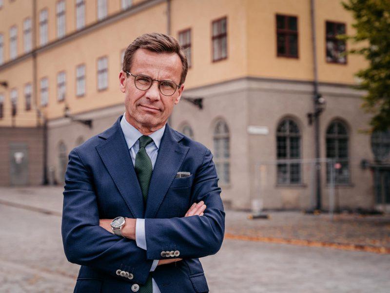 Ulf Kristersson, Szwecja, Umiarkowana Partia Koalicyjna