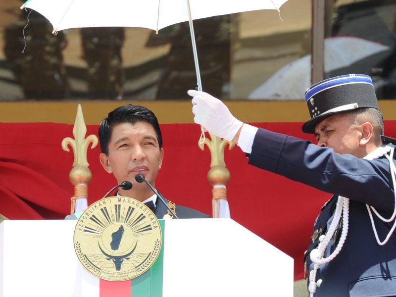 Prezydent Madagaskaru Andry Rajoelina, źródło: Flickr/GovernmentZA/DIRCO (CC BY-ND 2.0)