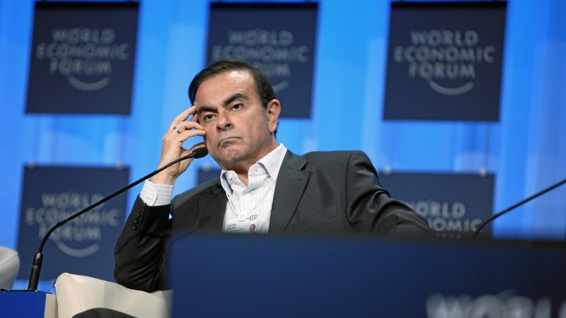 Były prezes Nissana Carlos Ghosn, źródło: Flickr/World Economic Forum, fot. Sebastian Derungs (CC BY-NC-SA 2.0)