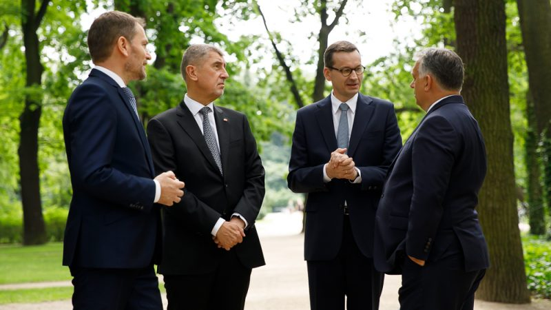 Polska,V4, Grupa Wyszehradzka, Węgry, Słowacja, Czechy, Orban, Bałkany, pandemia, COVID, unia Europejska,