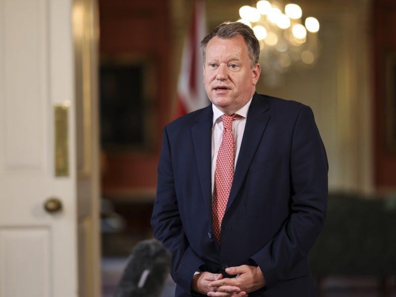 Wielka Brytania, Irlandia Północna, protokół w sprawie Irlandii Północnej, David Frost, Maroš Šefcovic, Boris Johnson