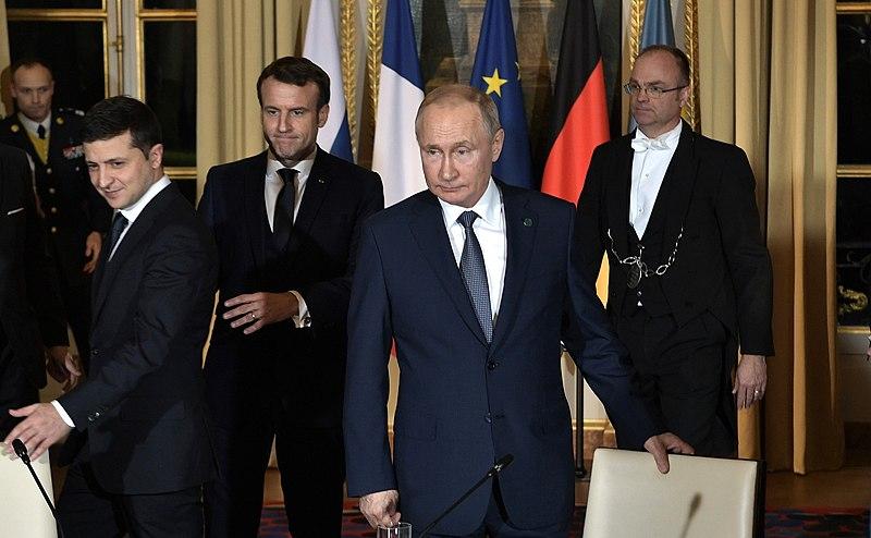 Ukraina, Rosja, Francja, Wołodymyr Zełenski, Emmanuel Macron, Władimir Putin