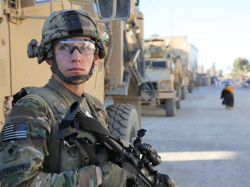 żołnierz, USA, Afganistan