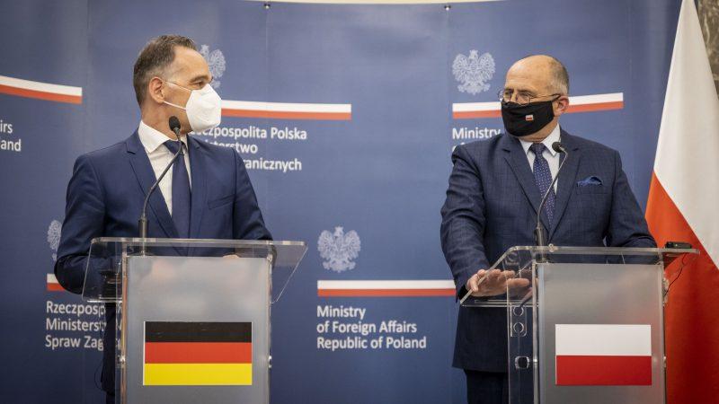 Niemcy, Polska, Heiko Maas, Zbigniew Rau, MSZ