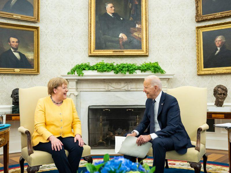 Niemcy, USA, Angela Merkel, Joe Biden
