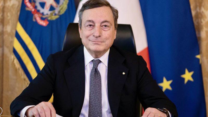 Włochy, Mario Draghi