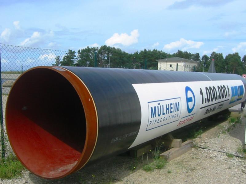 Gazociąg OPAL biegnie z Niemiec do Czech i transportuje rosyjski gaz z gazociągu Nord Stream lądem, źródło: Wikipedia, fot. Assenmacher (CC BY-SA 3.0)