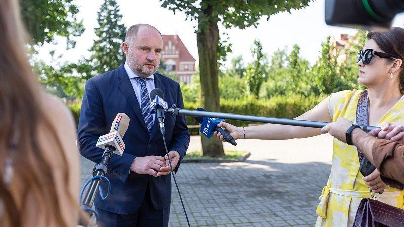 Marszałek województwa kujawsko-pomorskiego Piotr Całbecki, źródło fb