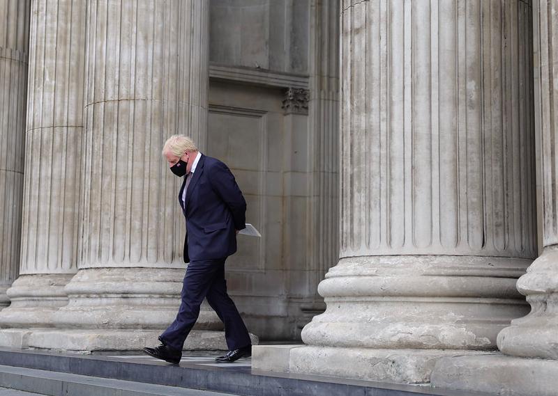 Premier Wielkiej Brytanii Boris Johnson, źródło: Twitter/UK Prime Minister (@10DowningStreet)