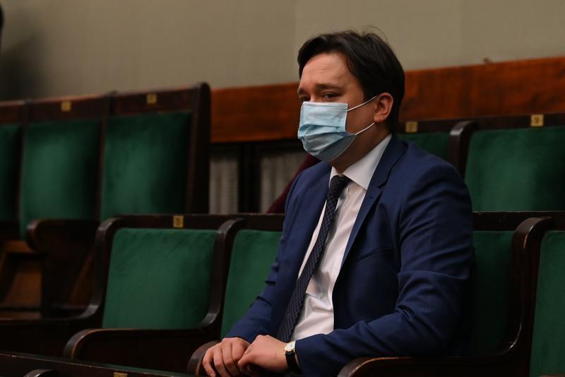 Prof. Marcin Wiącek w Sejmie, źródło Anna Strzyżak, Kancelaria Sejmu