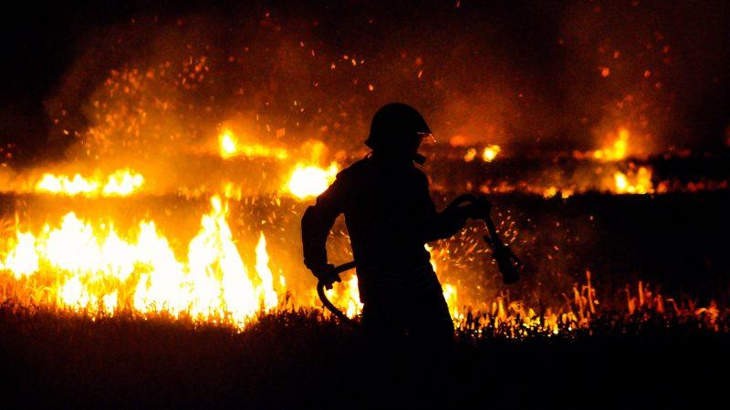 pożary w Europie