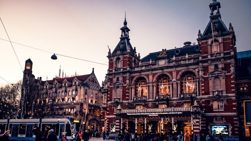 Holandia, Amsterdam, Leidseplein