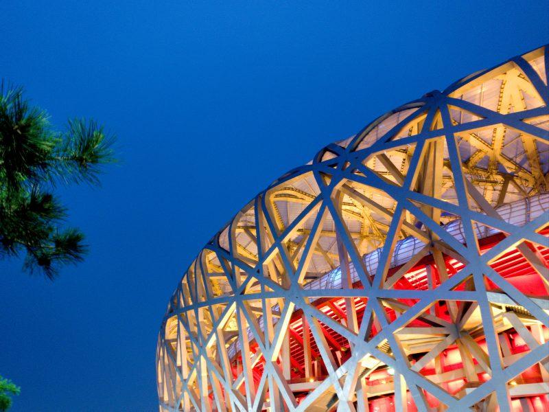 Pekin, Igrzyska Olimpijskie, stadion