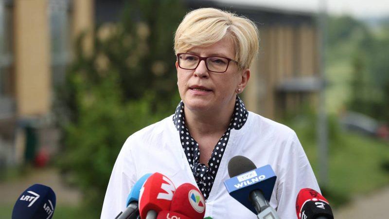 Litwa, Ingrida Šimonytė