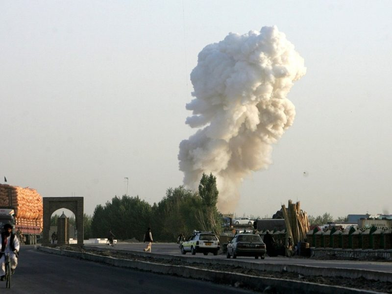 Do zamachów terrorystycznych w Afganistanie dochodzi regularnie od lat, źródło: Flickr/seair21 (CC BY-SA 2.0)
