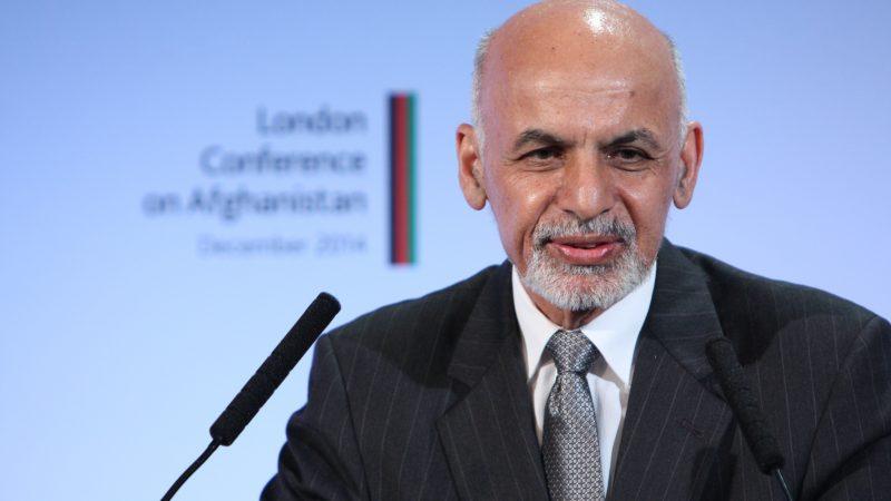 Obalony prezydent Afganistanu Ashraf Ghani