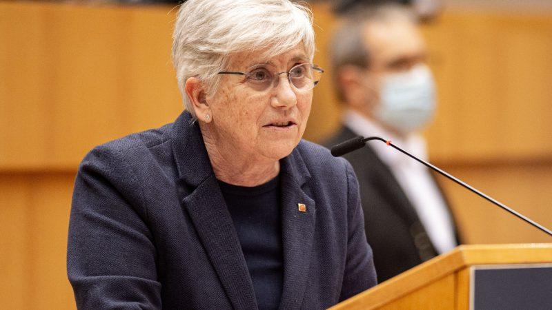 Clara Ponsati, Katalonia