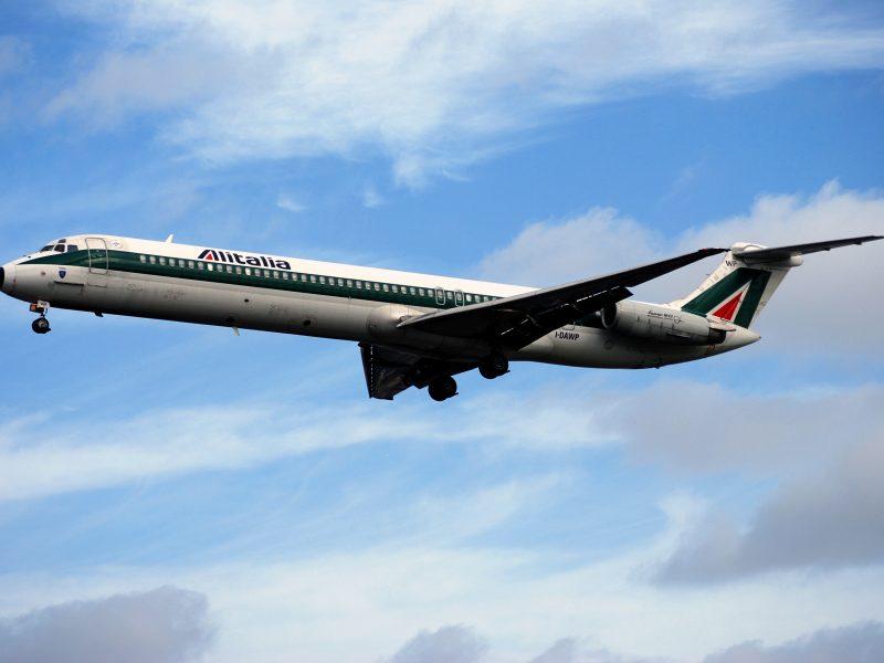 Alitalia, samolot