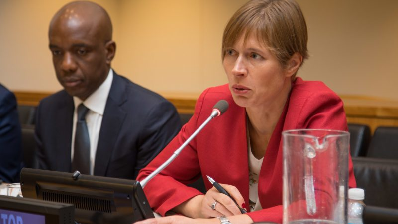 Kersti Kaljulaid, Estonia