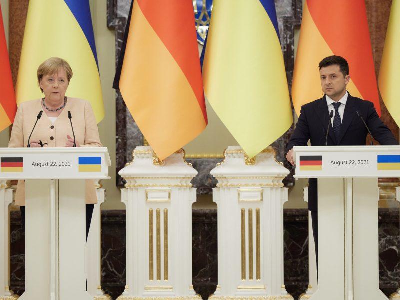 Niemcy, Angela Merkel, Ukraina, Wołodymyr Zełenski