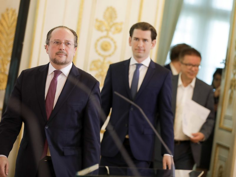 Austria, Alexander Schallenberg, Sebastian Kurz