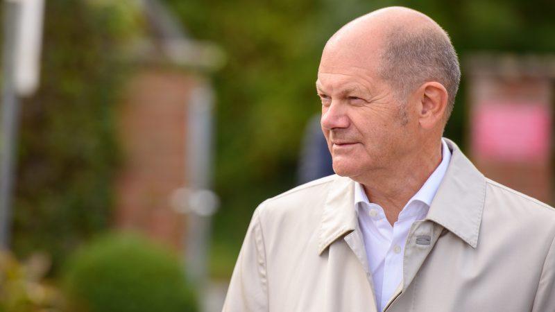 Olaf Scholz, kandydat SPD na kanclerza Niemiec
